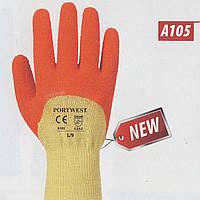 Перчатки A105 Grip Xtra с рельефным латексным покрытием