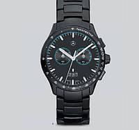Мужские наручные часы-хронограф Mercedes-Benz Men's Chronograph Watch, Black Edition