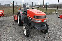 Японский мини трактор Yanmar F7  с почвофрезой
