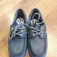 Кожанные туфли SPERRY TOP-SIDER стелька 19 см