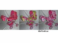 Коляска MELOGO 9333 (HT) для кукол 69*71*43 /3/В