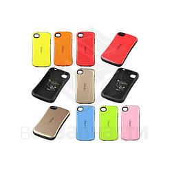 Защитный чехол iFace для мобильных телефонов Apple iPhone 4, iPhone 4S, бирюзовый, ударопрочный