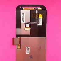 Дисплейный модуль  HTC T326e Desire SV, черный, с тачскрином