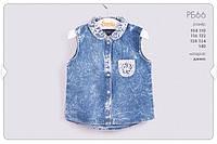 Летняя рубашка для девочки РБ66