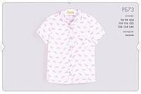 Летняя рубашка для девочки РБ73