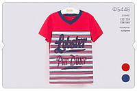 Летняя футболка для мальчика ФБ448