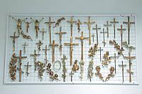 Надгробные кресты и распятия на памятники - бронза, латунь