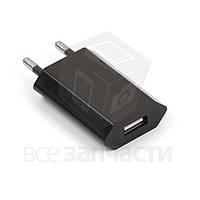 Сетевое зарядное устройство для мобильных телефонов Apple iPhone 2G, iPhone 3G, iPhone 3GS, iPhone 4, iPhone 4S, iPhone 5; MP3-плееров Apple iPod Mini