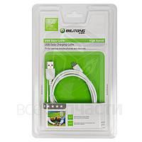 USB дата-кабель Bilitong для мобильных телефонов; планшетов, белый, 100 см, USB тип-A, micro-USB тип-B