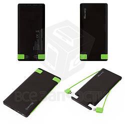 Power bank Bilitong A010, 5000 мАч, USB-выход 5В 2А, черный