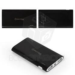 Power bank Bilitong Y068, 6000 мАч, USB-выход 5В 1A/2,1A, 112*60*13,5 мм, черный