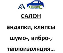 Салон автомобиля, внутренняя отделка