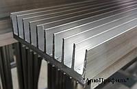 Радиаторный профиль алюминиевый. Размер 92х26 / б.п