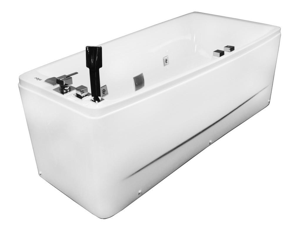 Ванна Volle 170х75 см с гидромассажем, правая/левая 12-88-102/R/L