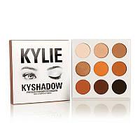 Тени Kylie Kyshadow The Bronze Palette ( Кайле Кишадоу зе Бронзе Палетт) 9 цв