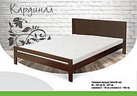 Ліжко дерев'яне букове Кардинал