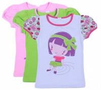 Летняя блузочка для девочки Cool (2-6 лет)
