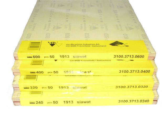 Наждачная бумага водостойкая в листах SIA
