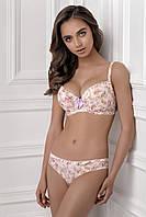 Набор нижнего белья: бюстгальтер, трусики. В розовый цветочек LEXY 1149/94 EMILIYA 2220/94 Jasmine Lingerie