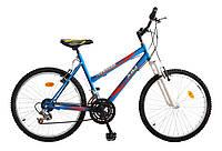 """ХВЗ Велосипед Подростковый 24"""" TEENAGER модель 47 ВА сине-красный"""