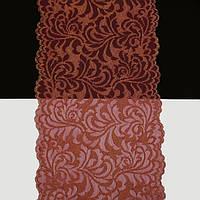 Кружево Франция арт. 477 красный с золотом, шир. 18 см.