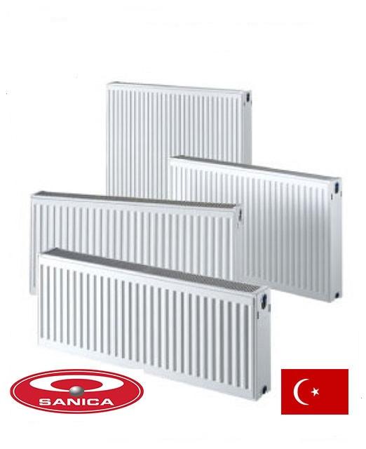 Стальные радиаторы sanica(Турция)
