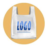 Пакеты полиэтиленовые МАЙКА с логотипом