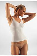 Антицеллюлитная майка на широких бретелях FarmaCell Vest Classic Massage Microfiber 142