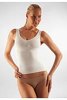 Антицеллюлитная моделирующая майка на широких бретелях FarmaCell Microfiber Vest 342