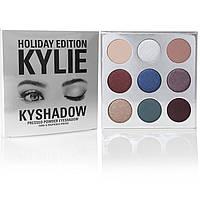 Тени Kylie Cosmetics Kyshadow Holiday Edition ( Кайли Косметикс Кишадоу Холидей Эдишн) 9 цв