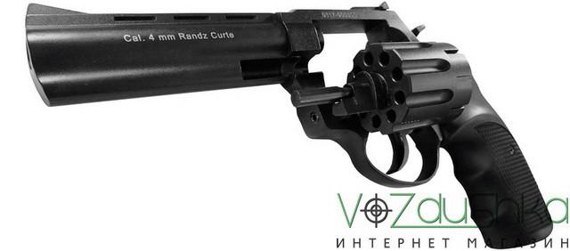 револьвер флобера stalker s 4,5 с откинутым барабаном
