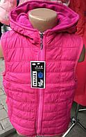 Детская жилетка на флисе для девочек (рост 110-134)