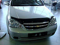 Дефлектор капота (мухобойка) Chevrolet LACETTI sedan, wagon  2004-