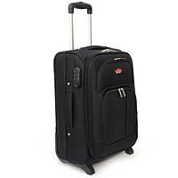 Чемодан дорожный среднего размера бизнес класс на 2-х колесах фирмы Suitcase