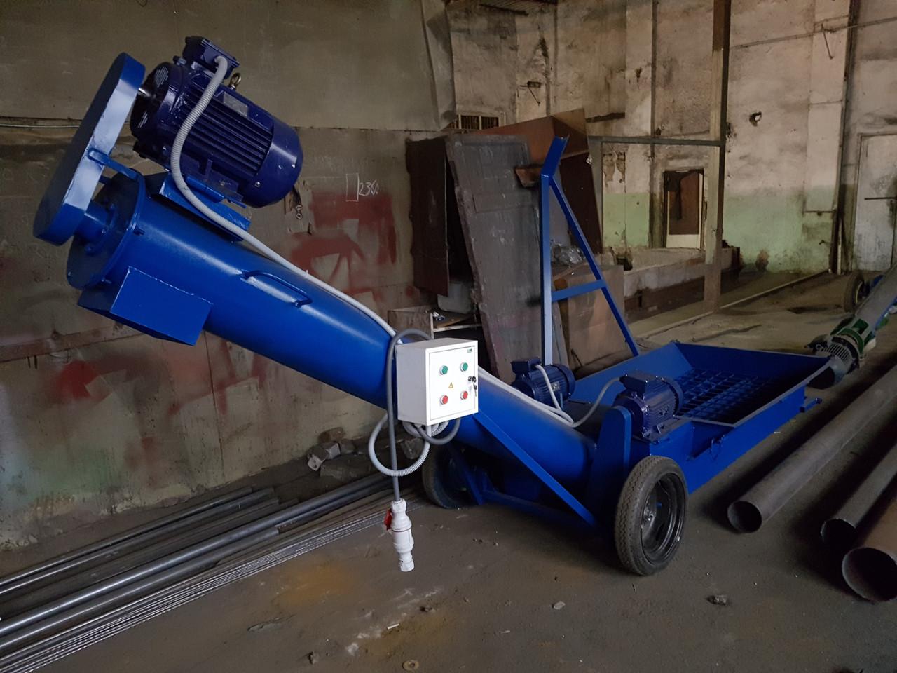 Оборудование для выгрузки зерна из вагонов-хопперов