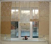 Японские панельки Мозаика золото с бежем, фото 1