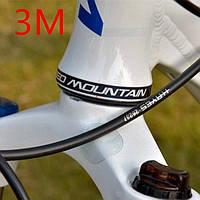 Плёнка для защиты рамы велосипеда от протирания тросиками