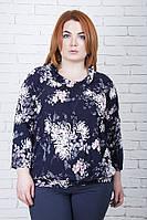 Туника большого размера Цветок, блуза трикотажная,  туники от производителя