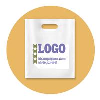 Пакеты полиэтиленовые БАНАН с логотипом