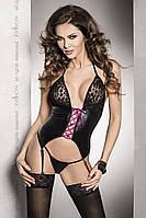 Сексуальный женский корсет Passion ROXY CORSET черный