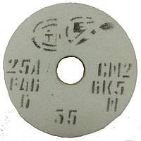 Круг абразивный шлифовальный 25А ПП 63х20х20 25СМ (F60, K, L) ЗАК