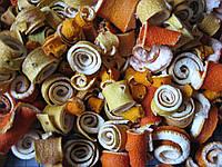 Высушенные цитрусовые спиральки, 50 грамм