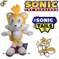 "Плюшевая игрушка Тейлз из Sonic - ""Tails"" - 23 см."