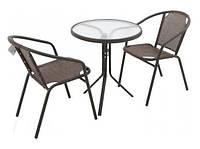Комплект стол и 2 стула EMMA, фото 1