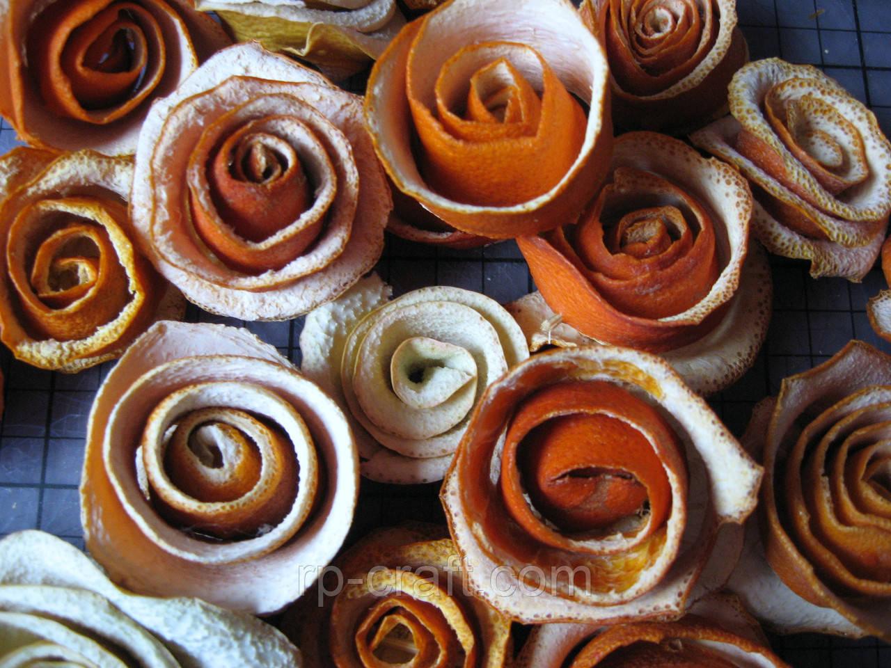 Розы из цитрусовых, 50 грамм