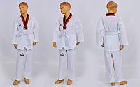 Добок кимоно для тхэквондо WTF Daedo CO-5567 (хлопок 35%, полиэстер 65%, р-р 1-6 (110-160см), 240г на м2