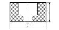 Круг абразивный чашечный цилиндрический  25А ЧЦ 43х26х13