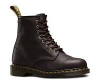 """Ботинки женские Dr. Martens Zip Boots BROWN """"VEGAN"""" (Доктор Мартенс) коричневые"""