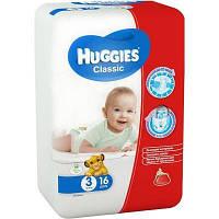 Подгузники Huggies Classic 3 Small 16 шт.