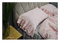 "Комплект из 100% льна ""Milfey, Pink"", фото 1"